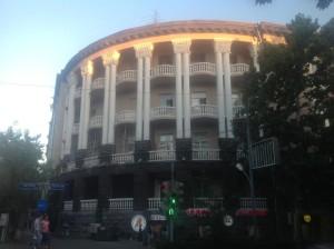 Жилые дома в центре города