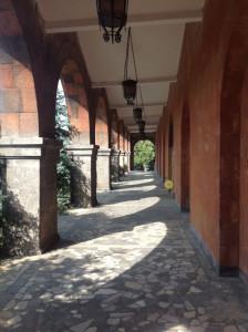 Внутренний двор завода