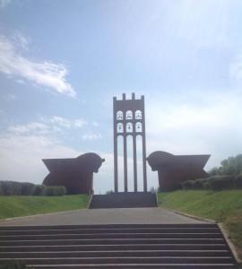 Мемориальный комплекс Сардарапат. Автор монумента и находящегося рядом музея – архитектор Рафаел Исраелян