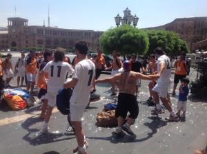 Аргентинские армяне празднуют победу в соревнованиях