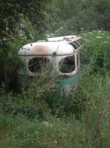 """""""Скелет"""" автобуса"""
